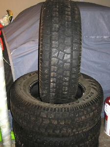 255 70R17 Winter Tires