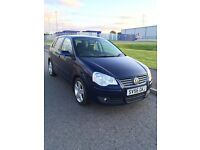 2006/56 Volkswagen Polo 1.9 Tdi Sport 100 5 Door VW Metallic Blue
