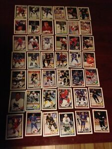 For Sale: Topps 1991-92 Hockey Cards (Lot of 106 Cards) Sarnia Sarnia Area image 1