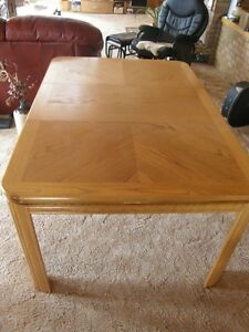 Oak Dining Table Prince George British Columbia image 1