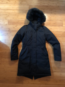 Women's The North Face Arctic Parka Winter Jacket - XS, Black