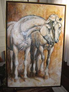 Peinture d'Élise Genest