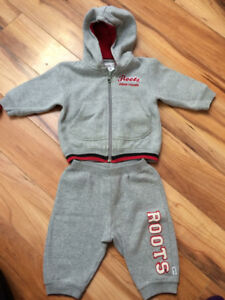 3-6 month sweat suit.