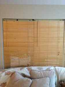 wood window blinds 5 for $75.00