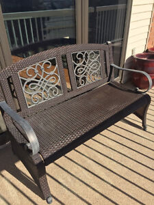 Outdoor Lounger and Bench