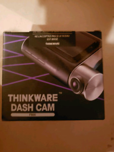 Selling brand new sealed thinkware dashcam f800