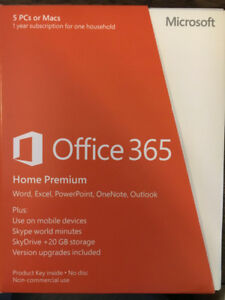 Office 365 Home Premium One year subscription