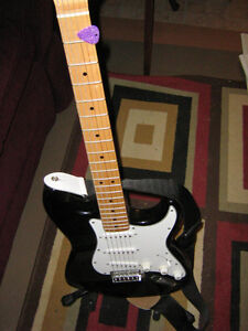 Fender Starcaster Strat Electric guitar and Amp