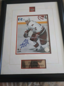 Eric Staal Huricanes 8×10 framed signed photo