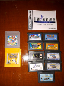 Jeux Gameboy Advance/GBA Games