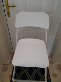 FOLDING KITCHEN CHAIR as new