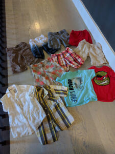 Boys summer clothing lot