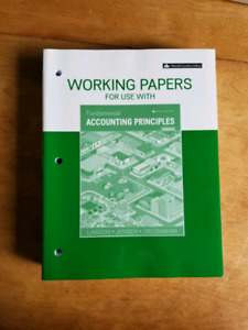 Working Papers for Fundamental Accounting Principles