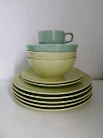 Ikea dinner plates side plates and a mug