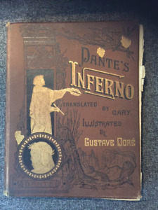 Dante's Inferno First Edition Hardcover