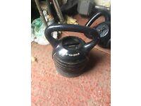 Weight select kettlebell