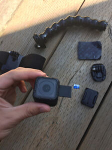 GoPro HERO4 Session Video Camera W/ Accesories