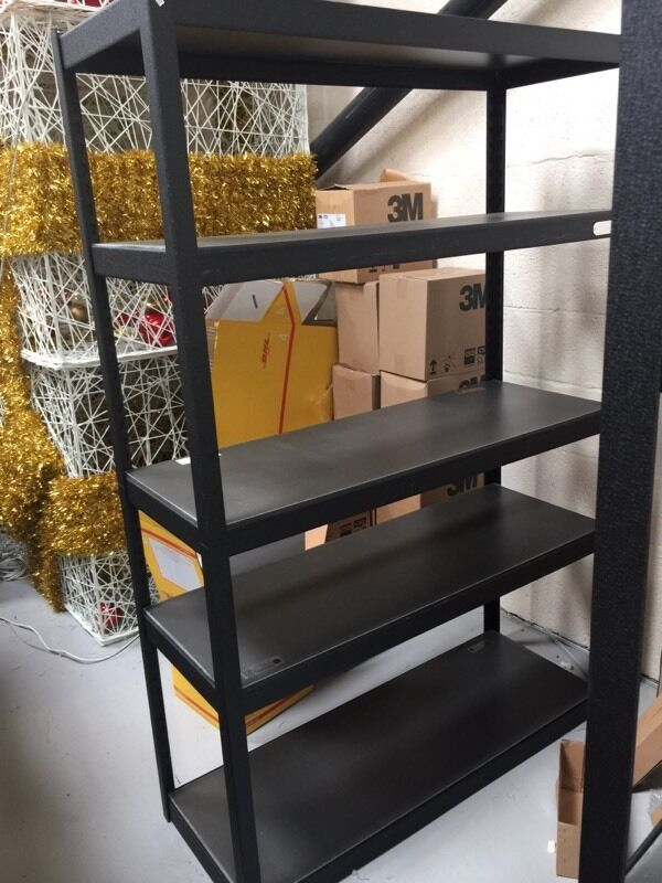 heavy duty storage shelves. Whalen 5 Tier 48 Heavy Duty Storage Shelves