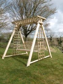 Wooden garden swing seat bench furniture