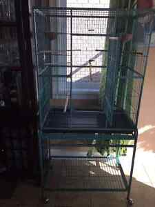 Fly cage with stand