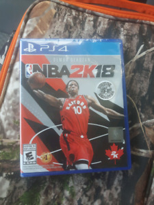 PS4 NBA2K18 BRAND NEW!!!