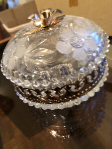 CRYSTAL CANDY CONTAINER