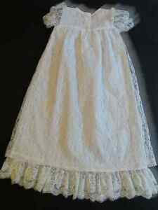 White Lace Christening/Baptismal Gown (up to 20 pounds) Cornwall Ontario image 5