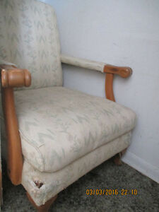 Antique Chair-Project for reupholstering