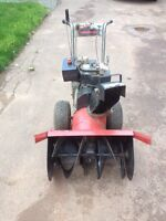 """Wedgfield Snowblower 8/26"""" - taking a loss for more storage"""