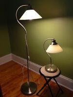 Set of IKEA lamps