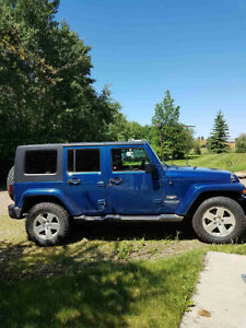 2009 Jeep Wrangler 4x4 Sahara Unlimited - Reduced