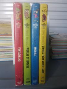 The Wonderful Worlds of Walt Disney 4 Volume Set