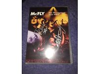 Signed Mcfly DVD