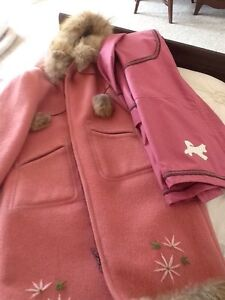 Long Hudson Bay coat with outer shell size 12