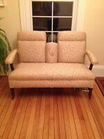Bench antique chair sofa