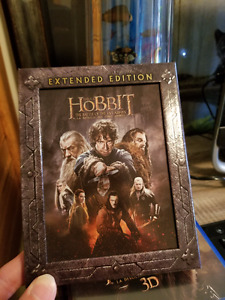 The Hobbit The Battle Of The Five Armies Extented Edition BLURAY