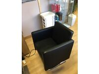 Hairdressing salon hair styling chair