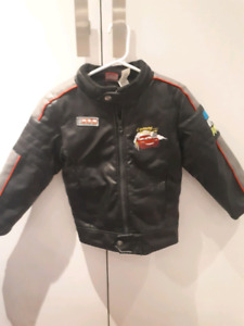 Cars 2 Faux Leather Jacket