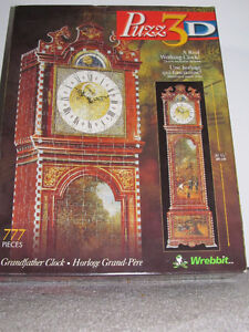 Puzz 3D Grandfather Clock by Wrebbit London Ontario image 1