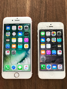iPhone 6s and iPhone 5
