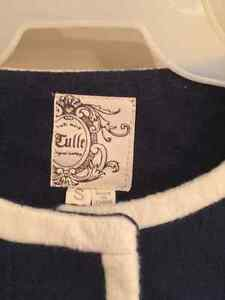Gorgeous Navy and White Vintage Style Coat London Ontario image 2