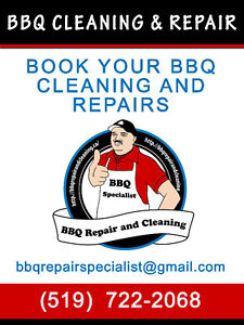 Outdoor Grill Cleaning &  Repairs