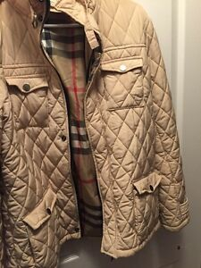 Authentic Burberry diamond quilted jacket