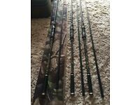 SHIMANO Tribal Multi Lite Rods 9 or 11ft £300 ONO
