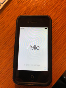 iphone 4s - 16g - with otterbox case and charger - Unlocked