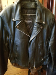 Leather bike jackets