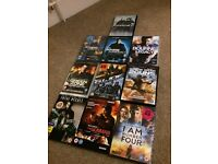 10 x Action DVDs