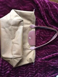 Authentic Longchamp tote LARGE taupe