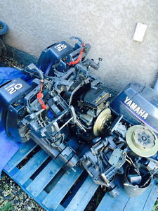 Used 2006 Yamaha 20-25hp.