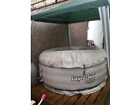 Lazy spa for sale full working order and pump
